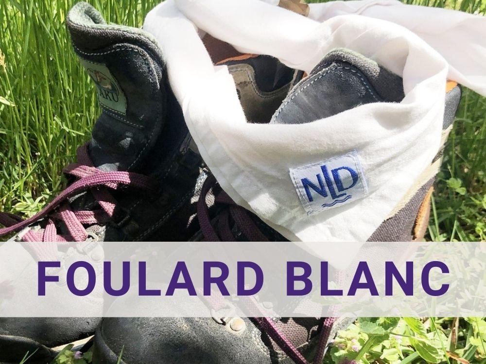 foulard blanche
